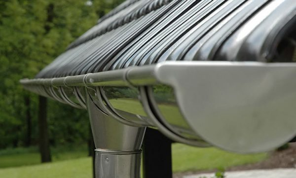 Steel rainwater system tigRes
